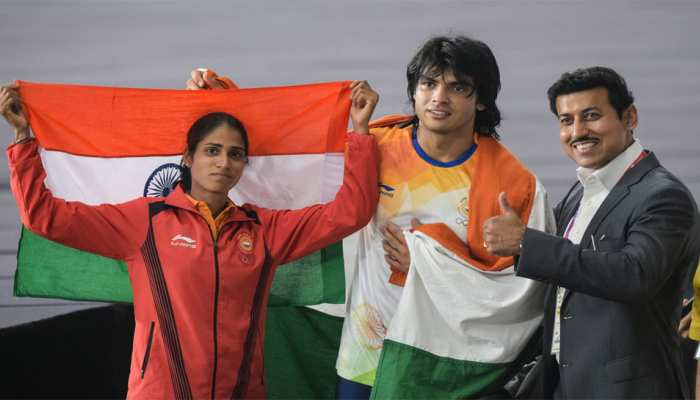 Asian Games 2018, Day 9: Neeraj Chopra wins javelin gold after Dharun, Sudha and Neena win silver in athletics