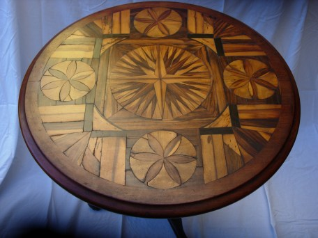 James Aird carved table
