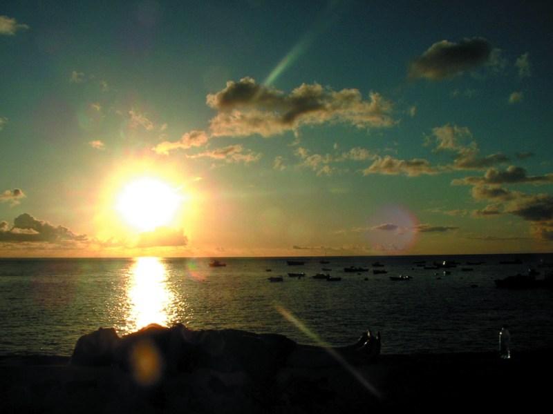 James bay sunset