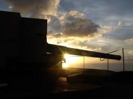 Guns Sunset, St Helena Island
