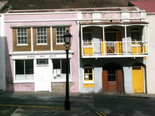 Houses opposite the Canister