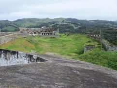 High Knoll Fort interior, St Helena Island