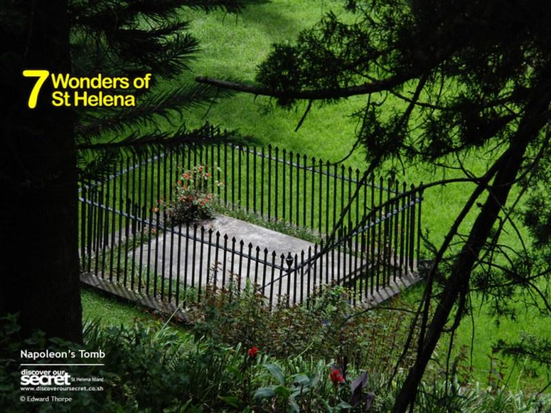 Napoleon's Tomb, St Helena Island