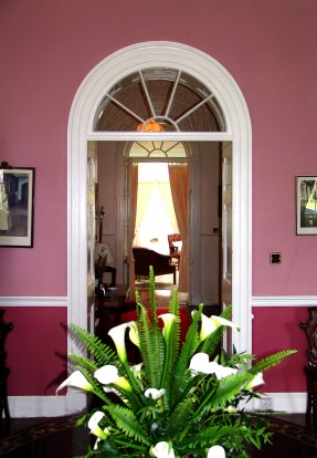 Plantation House interior, St Helena Island
