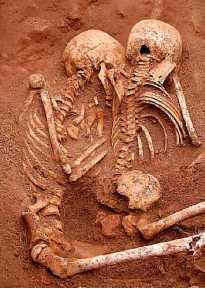 Slave graves skeletons