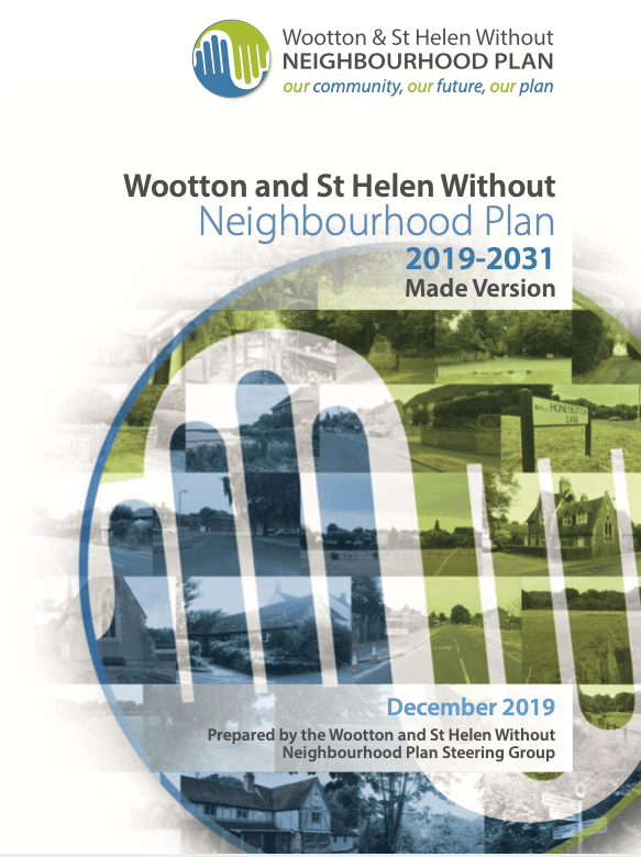 Wootton (Nr Abingdon) and St Helen Without Joint Neighbourhood Plan 2019-2031