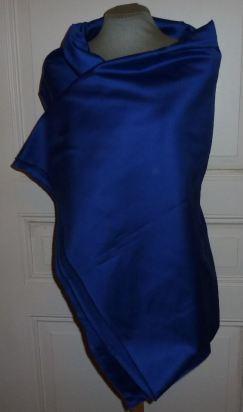 BW-Satin königsblau