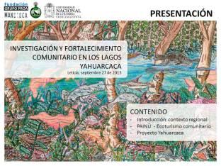 Presentation World Tourism Day 2013 - Tourism & Water