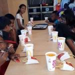 Feestje basisschool McDonalds 1 stichting Sparrow