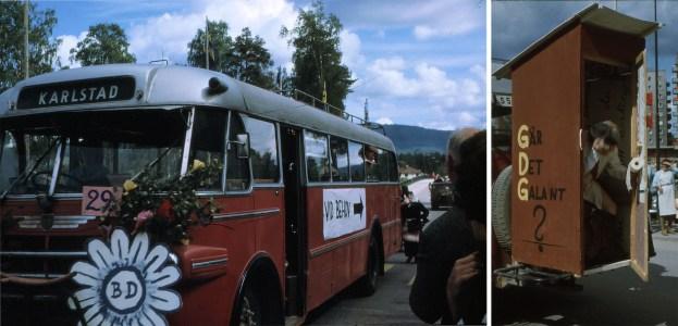 BD 1965 Tåg blir buss