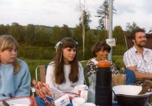 Janeth, min dotter och Sigrid Verneus