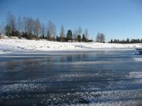 Vinter med snö och is