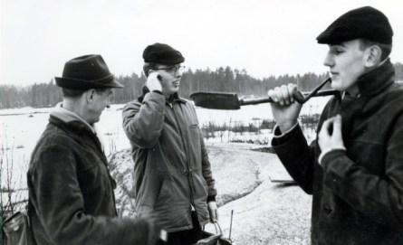 Ernst Finkvist, Malte Andersson o Lasse Storm
