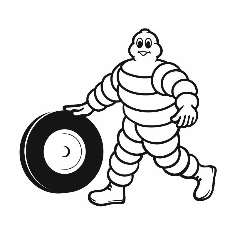 Sticker Pneu Michelin Etiquette & Autocollant