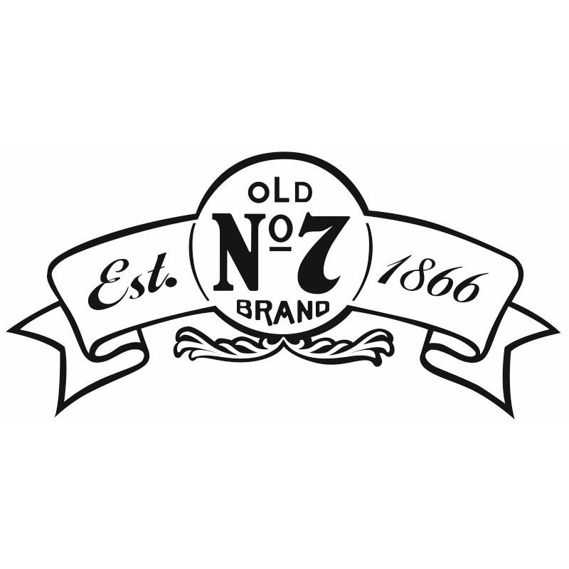 Sticker JACK DANIEL RUBAN Etiquette & Autocollant