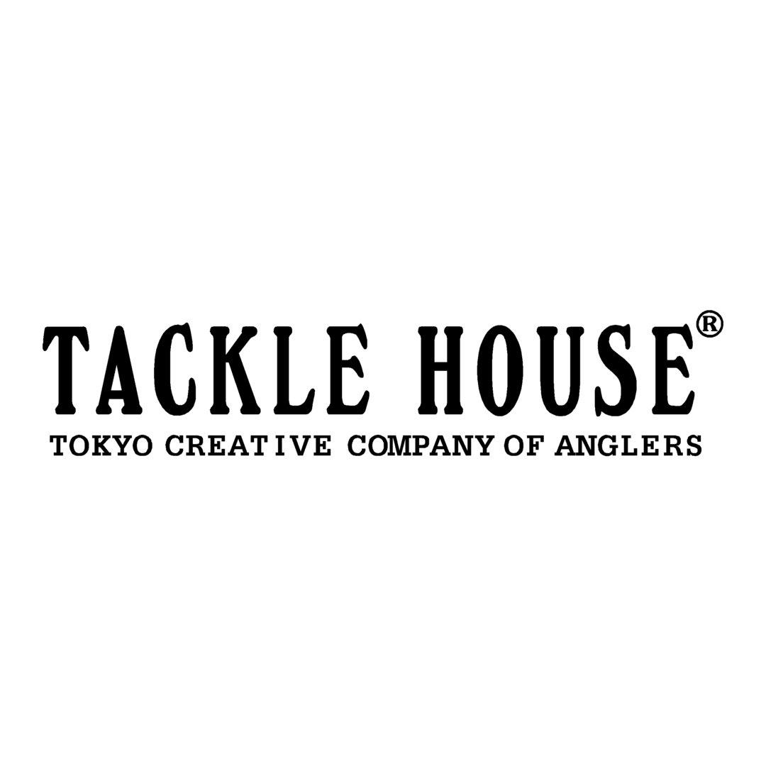 sticker TACKLE HOUSE ref 2 marque de matériel pêche