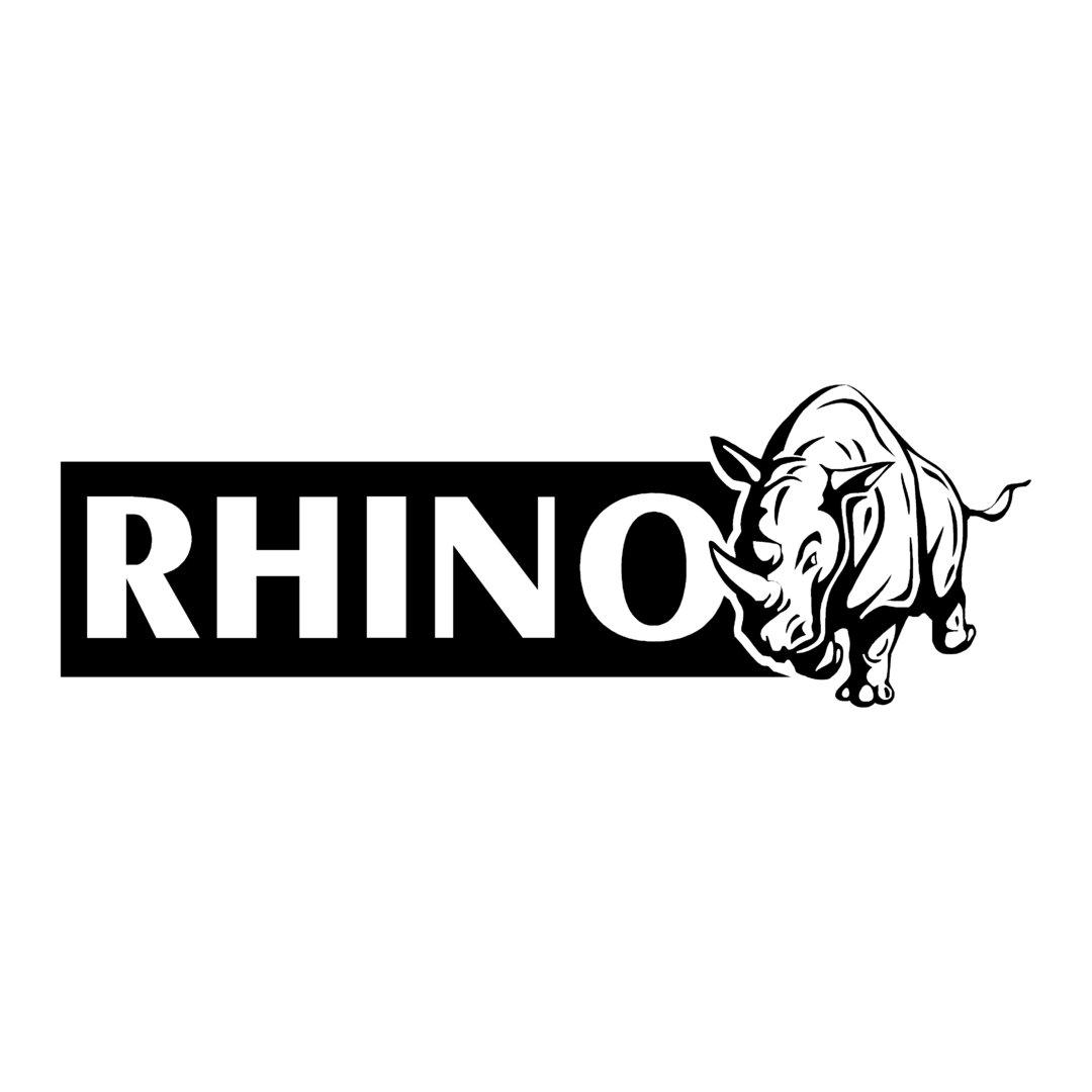 sticker RHINO ref 1 marque matériel pêche autocollant