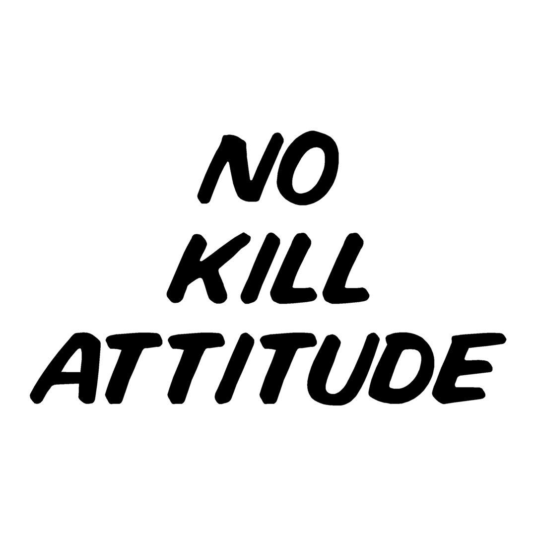 sticker NO KILL ref 15 pêche poisson bateau autocollant