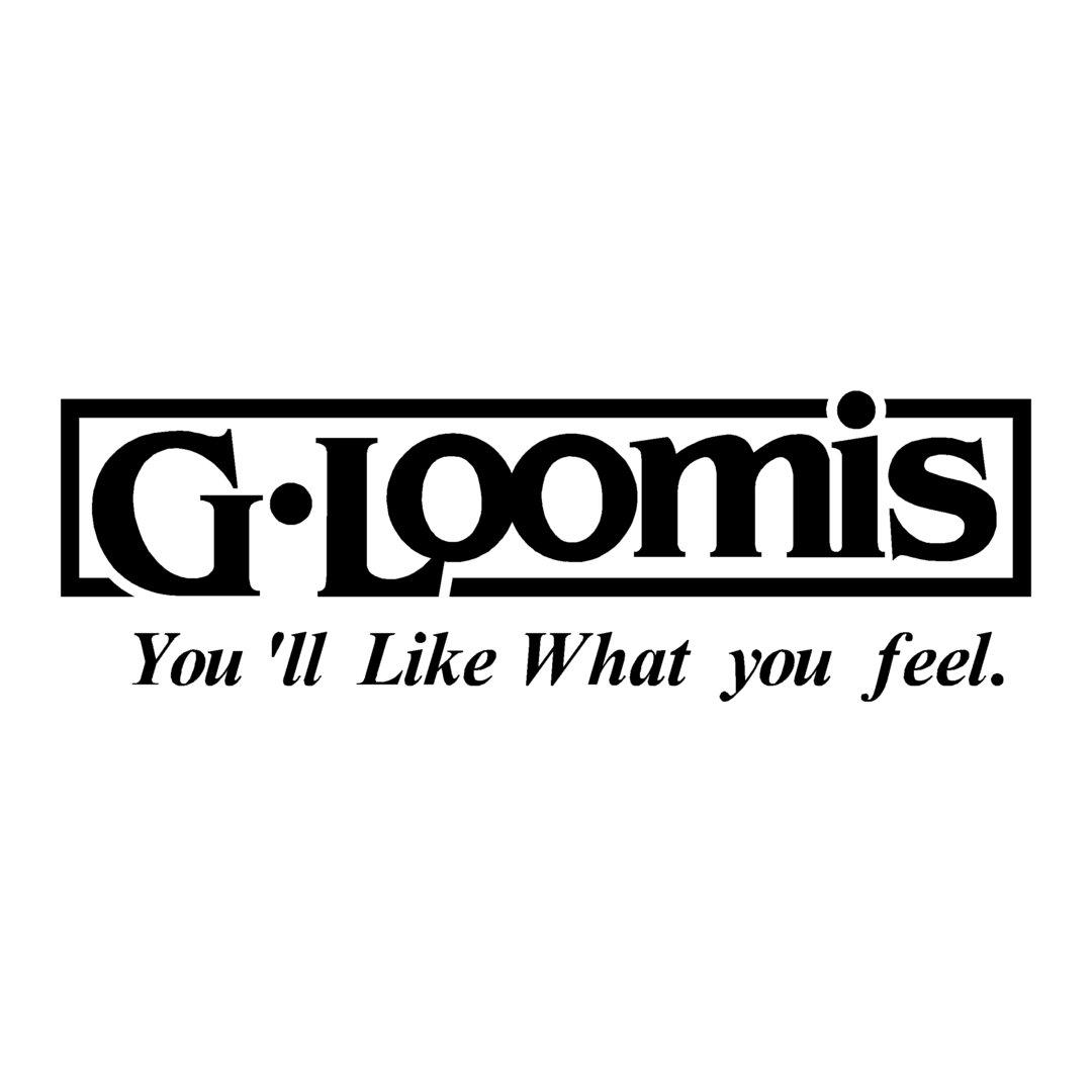 sticker G.LOOMIS ref 5 Marque matériel pêche autocollant
