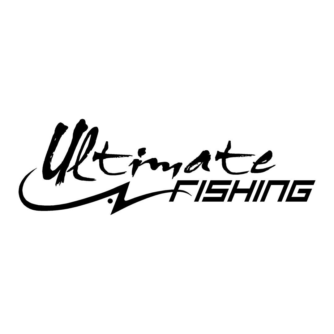 sticker ULTIMATE FISHING ref 1 autocollant marque materiel