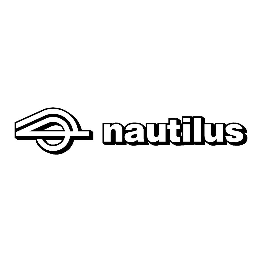sticker NAUTILUS ref 5 autocollant chassis remorque bateau