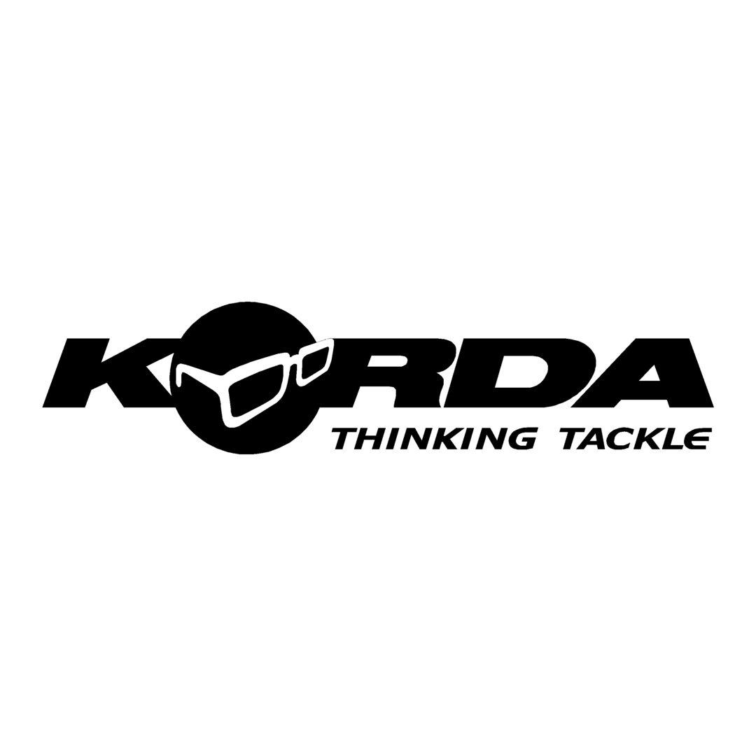 sticker KORDA ref 2 marque de pêche autocollant sponsor carpe