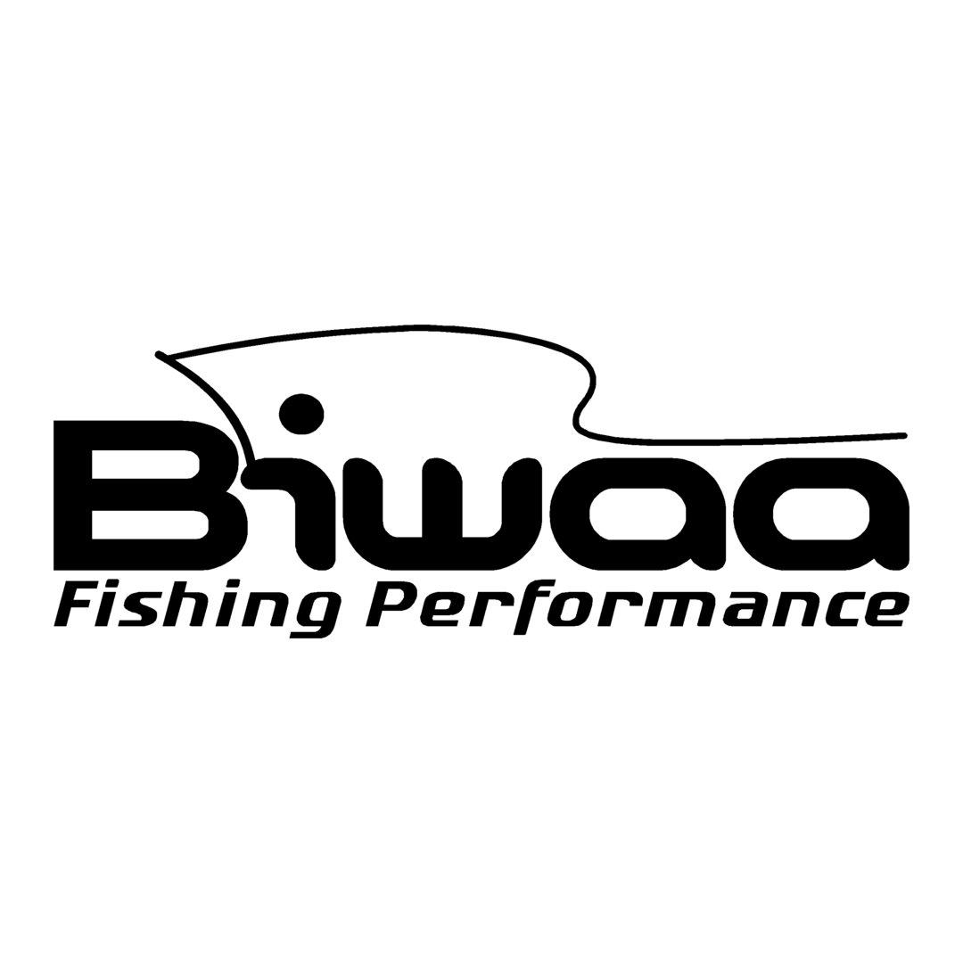 sticker BIWAA ref 2 autocollant sponsor bass boat marque