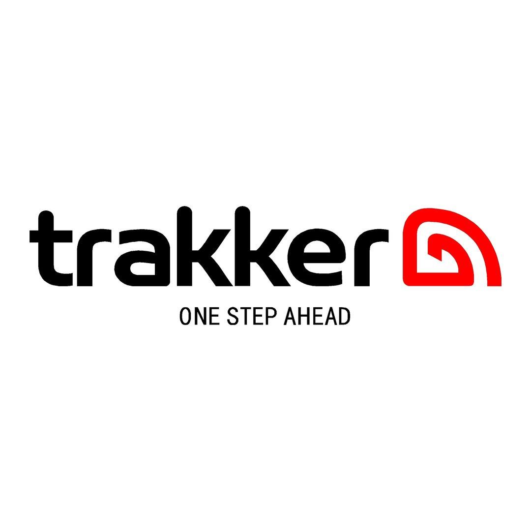 sticker TRAKKER ref 6 marque matériel pêche autocollant