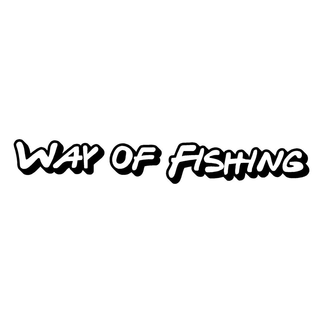 sticker WAY OF FISHING ref 2 marque matériel de pêche