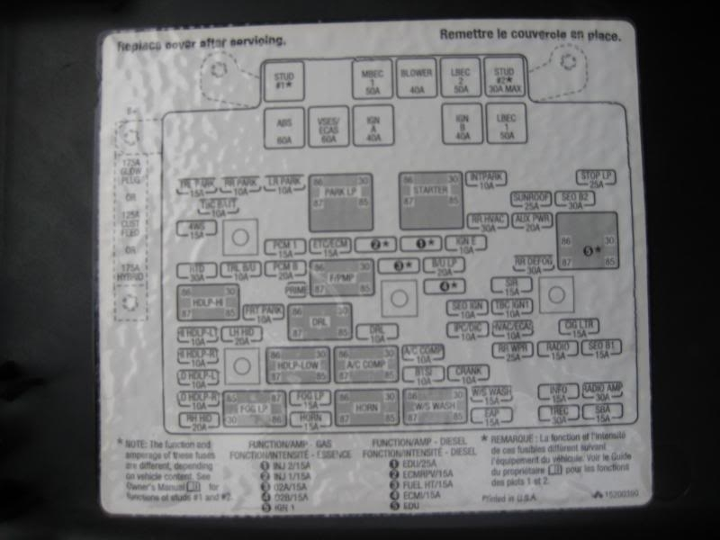 Fuse Box Diagram On Freightliner Instrument Cluster Wiring Diagram