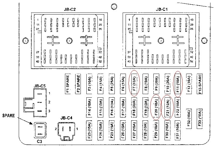 2006 jeep commander fuse box diagram car stereo speaker wiring 2007 auto electrical related with