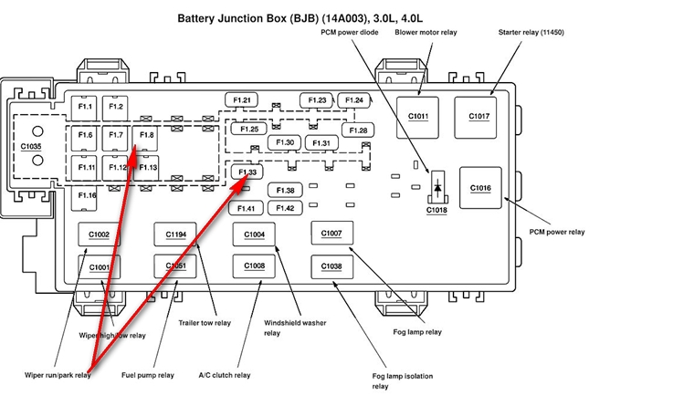 [DIAGRAM] 2001 Ford Ranger Relay Diagram FULL Version HD
