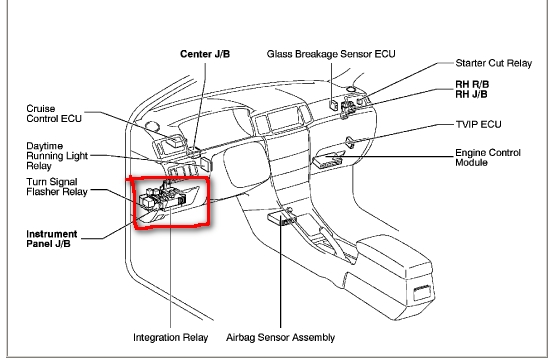 Toyota Corolla Engine Dash Light Diagram Html