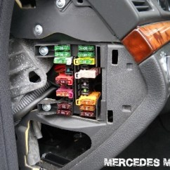 2006 Impala Speaker Wiring Diagram Plate Tectonics Subduction 2005-2011 Mercedes-benz Cls Fuse List Regarding Car Box Location | And