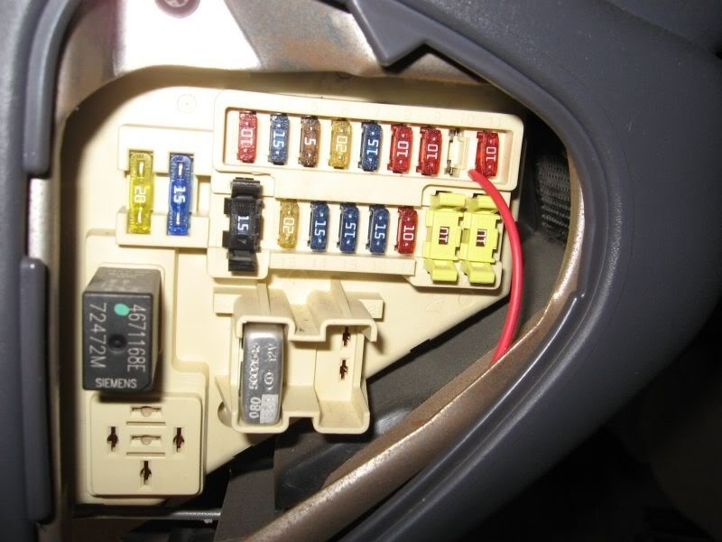 2004 Dodge Caravan Fuse Box Diagram
