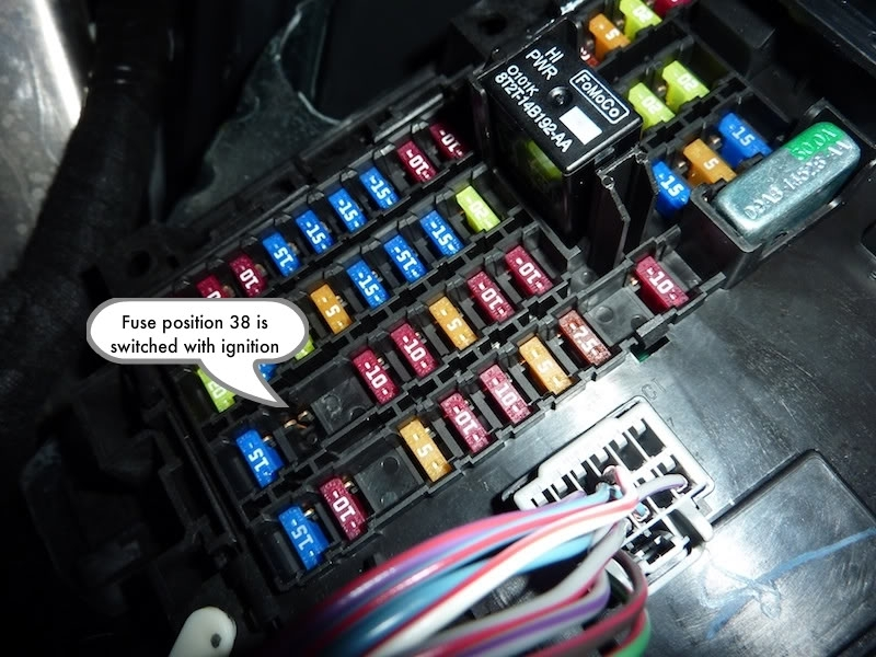 2005 Ford Explorer Fuse Box Diagram