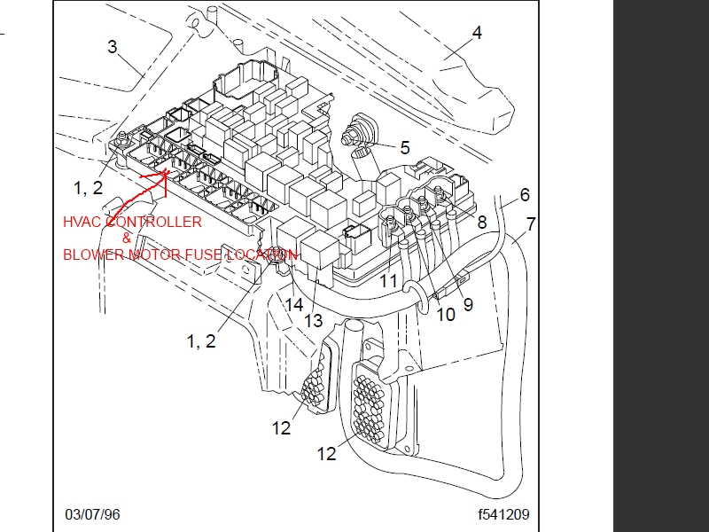 1999 Freightliner Fl60 Wiring Diagram. Parts. Wiring