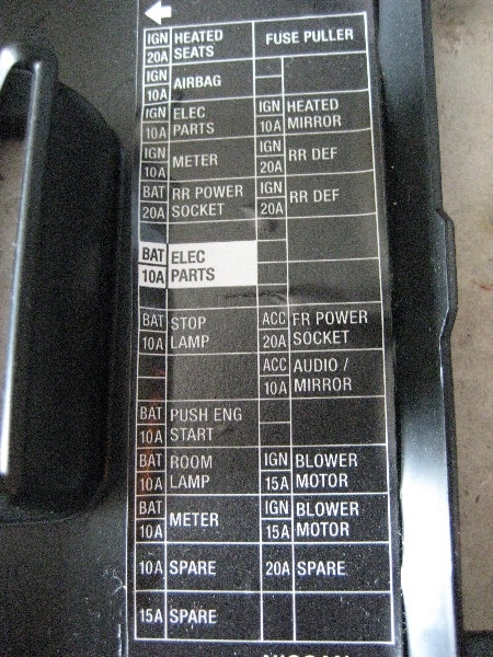 Diagram In Addition Nissan 240sx Fuse Box Cover In Addition Nissan