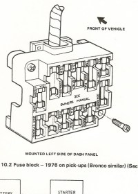 Fuse Block 1976 - Ford Truck Enthusiasts Forums regarding ...