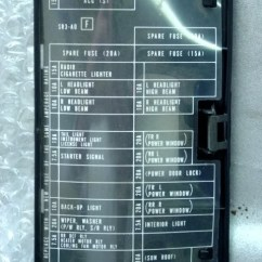 98 Civic Fuse Box Diagram Heat Thermostat Gas 1994 Honda Dx | And Wiring