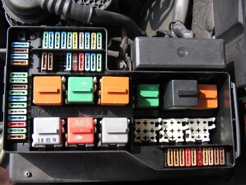 e46 coupe fuse box