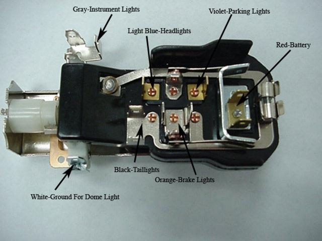 Headlight Switch Wiring Diagram On 1971 Gmc Pickup Wiring Diagram