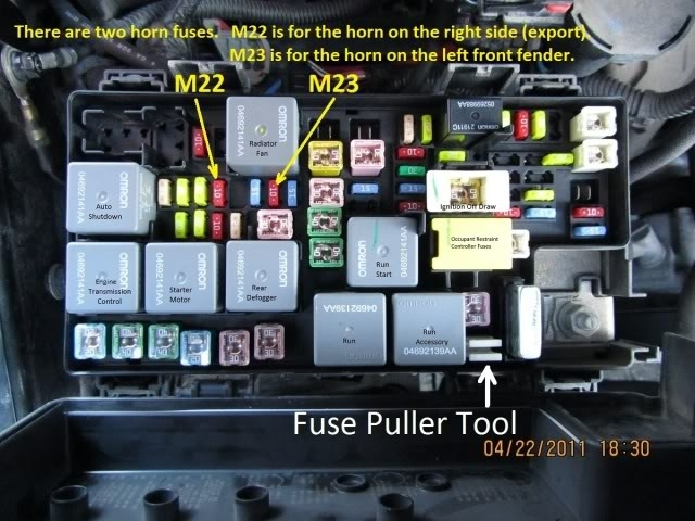 Jeep Horn Wiring Diagram