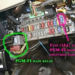 1995 Honda Civic Fuse Diagram Nickel Electron Of Protons Neutrons Electrons 1993 Fuel Pump Location | Box And Wiring