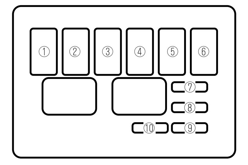 1999 Mazda Millenia 6 Cyl Fuse Box Diagram Wiring Diagram