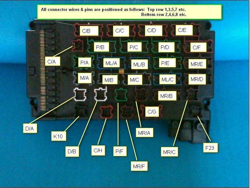 Mercedes Car Wiring Diagram