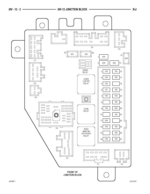 2010 Jeep Patriot Fuse Box Diagram : 34 Wiring Diagram