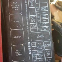 2010 Nissan Maxima Wiring Diagram 6 Volt Rv Battery 97 Fuse Box   And