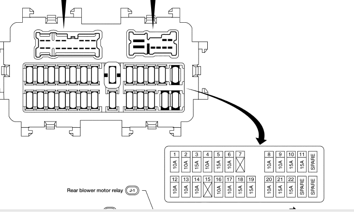 2006 Infiniti G35 Fuse Box Diagram Wiring Diagrams