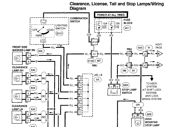 2015 nissan altima fuse diagram